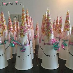 Super DIY Wedding Birthday Party Sweet Cellophane Clear Candy Cone Storage Bags Unicorn Party Decor Easter Decoration 18 × - Robin is Life Unicorn Themed Birthday Party, Diy Birthday, Birthday Party Decorations, Birthday Candy, Unicorn Party Decor, School Birthday Treats, Unicorn Party Bags, Candy Cone, Sweet Cones