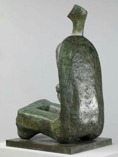 Henry Moore OM, CH  Seated Woman: Thin Neck  1961