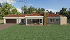 A 4 Bedrooms Tuscan styled house plans you can call home. This 4 Bedrooms Tuscan styled house design is perfect for your medium size family. House Plans For Sale, House Plan With Loft, House Plans With Photos, 6 Bedroom House Plans, Garage House Plans, Contemporary House Plans, Modern House Plans, Double Storey House Plans, Tuscan House Plans