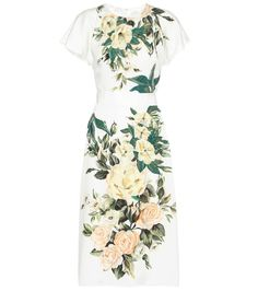 mytheresa.com - Floral-printed silk dress - Luxury Fashion for Women / Designer clothing, shoes, bags