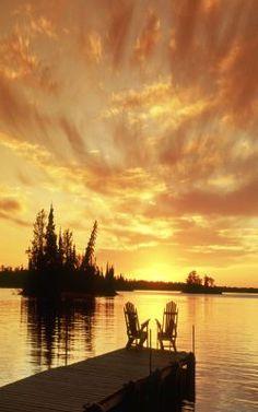 Margaret Lake Whiteshell Provincial Park / Manitoba