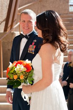 Las Vegas Wedding Planer, Springs Preserve Wedding, Las Vegas, Military Wedding, Bride, Groom