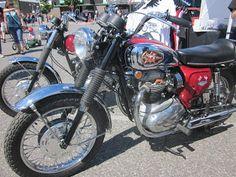 1974 bsa motorcycles pictures | OldMotoDude: 1968 BSA Lightning on display at 2013 Cool Desert Nights ...