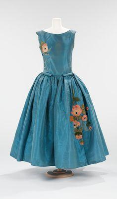 """Jolibois"" silk dress by House of Lanvin, FW 1922/23~Image © The Metropolitan Museum of Art. #Lanvin #Lanvin125"