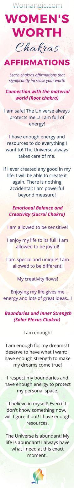 3 Secrets To Woman's Worth Chakra Mantra, Chakra Meditation, Mindfulness Meditation, Chakra Affirmations, Positive Affirmations, Chakra Images, Chakra Meanings, Chakra Cleanse, Chakra Balancing