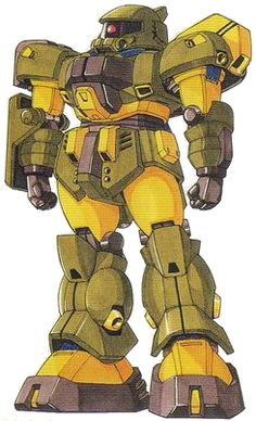 The MS-04 Prototype Zaku is a mobile suit built by the Principality of Zeon several years before the One Year War. The MS itself only appeared as part of the MS Collection.