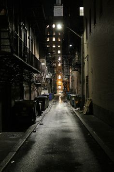 Pinner before:Just a picture of an alleyway, but I think of Gotham City immediately. City Aesthetic, Aesthetic Grunge, Dark Alleyway, Estilo Rock, By Any Means Necessary, Dark City, Dark Images, City Wallpaper, Cartoon Wallpaper