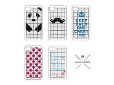 Patterns for iPhone   5 Cross Stitch PATTERNS  by LanasCrespo, $15.00