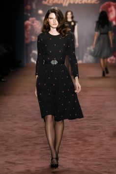 HARRISON DRESS<br/>fox black