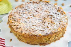 Italienischer Mandelricotta-Kuchen mit Orange / glutenfrei / ohne Mehl