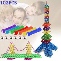 103pcs Magnetic Toys Sticks Building Blocks Set Kids Educational Toys For Children Magnets Christmas Gift  FJ88-in Blocks from Toys & Hobbies on Aliexpress.com | Alibaba Group
