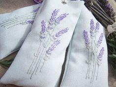 Un Blog de Puntitos: Lavandas,Rosas y regalos para Isabel Needlework, Blog, Embroidery, How To Make, Lavender Ideas, Projects, Diy, Lavender Bags, Embroidered Cushions