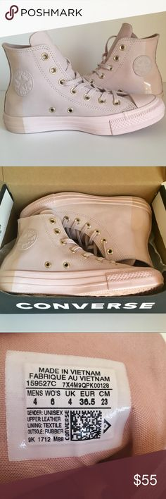 8ac59af1b814 NEW Converse Sneaker Sz 6 Barely Rose Gold NEW IN BOX! Color is Barely Rose  - see pic next to a pink ruler - and white background Brand  Converse  Color  ...