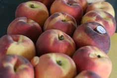 homemade baby food (peaches):  the canned kind is just plain gross.