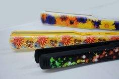 https://flic.kr/p/AP2rS3 | Bright colors LED UV printing on plastic hair straightener