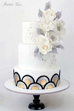The Silver Jubilee - Cake by Joonie Tan