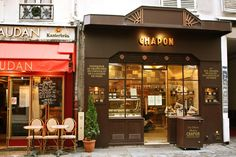 Patrice Chapon Chocolaterie, Paris store design