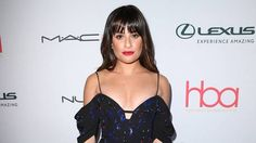Lea Michele loves flaunting her best assets on the red carpet
