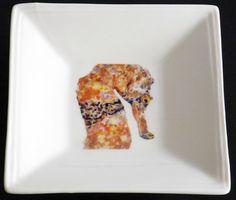 Bubba's Seahorse Square Dish