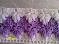 Beautiful crochet stitch! Wow..