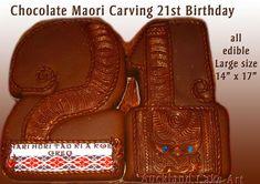 o yea chocolate maori cake lol Maori Symbols, Flax Weaving, Unusual Wedding Cakes, 21st Birthday, Birthday Cakes, 21st Cake, Maori Designs, Sugar Craft, Cake Pictures