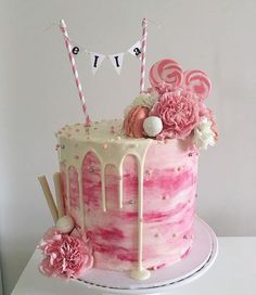 Birthday Cake Decorations For Girls 1000+ ideas about girl birthday cakes on pinterest | easter cake
