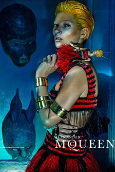 Kate Moss for Alexander McQueen S/S 2014 Ad Campaign