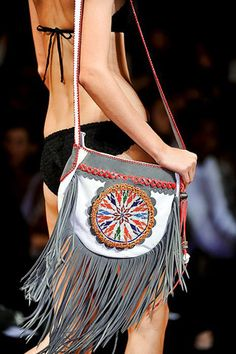 a bohemian rhapsody . Leather Purses, Leather Handbags, Leather Bag, Handmade Purses, Handmade Handbags, Fringe Handbags, Purses And Handbags, Cowboy Girl, Organza