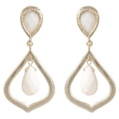 Kendra Scott Ryanne White Earrings KSE3216G