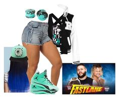 """""""Fastlane 2016: Kevin Owens vs Dolph Ziggler"""" by raine-wwe ❤ liked on Polyvore featuring Mishka, women's clothing, women, female, woman, misses and juniors"""