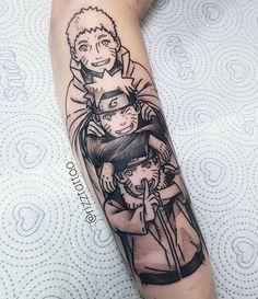 Manga Tattoo, Z Tattoo, Leg Tattoo Men, Anime Tattoos, Tattoo Drawings, Dope Tattoos, Leg Tattoos, Body Art Tattoos, Tattoos For Guys