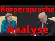 Angela Merkel bei Donald Trump – Körpersprache Analyse   The Daily Digest