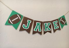Highchair Banner, Personalized Sports Birthay Banner Sports Name Banner Football Birthday First Birthday Banner Smash Cake Banner Personalized Football Highchair Banner Football BirthdayPersonalized Football Highchair Banner Football Birthday Football First Birthday, First Birthday Banners, Boy First Birthday, First Birthday Parties, First Birthdays, Birthday Ideas, Birthday Cakes, Football Banner, Football 24