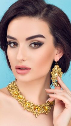 Beautiful Eyes, One Color, Indian Fashion, Sparkle, Drop Earrings, Face, Accessories, Beauty, Jewelry