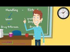 Andreas Thorsten Molander har lavet tre animationsfilm om typiske grammatiske fælder: ad/af, for/får og -t/-ede. Se alle tre i denne playliste... de er rigtig gode!!
