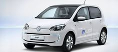 e-up! — Volkswagen's first fully electric mass production car — to launch this year. (Credit: Volkswagen Group) #cars #electricars #Volkswagen #eUP