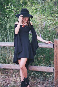 Mädchen Kleid Elfen Wald Festival Kleid Boho von ElvenForest