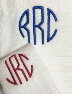 50 best monogrammed bath towels bath linens images bath linens rh pinterest com