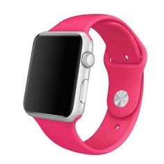Iuhan Silicone Replacement Watch Band Strap For Apple Watch Material: Silicone. Softness is moderate, wear very comfortable. Size Band Length Compatible for Apple Watch Package Watch Band. Apple Watch 42mm, Apple Wrist Watch, Apple Watch Series 1, Apple Watch Bands, Ipad Air 2, Sport Watches, Watches For Men, Wrist Watches, Ladies Watches