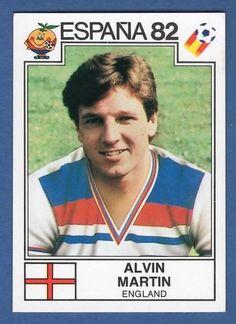 Alvin Martin - England - España 82 World Cup sticker 243 Football Stickers, Football Cards, Football Soccer, Baseball Cards, England Football Players, 1966 World Cup Final, Der Club, International Football, Sports