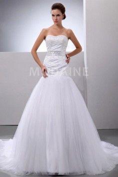 robe de mariage bustier