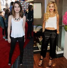 Emma Roberts vs. Rita Ora: The Stars Give Easy Separates a Trendy Spin