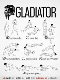 Entrenamiento de Gladiador