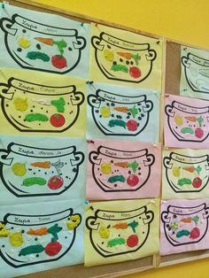 Пин от пользователя magda на доске warzywa i owoce Lessons For Kids, Art Lessons, Vegetable Crafts, Art For Kids, Crafts For Kids, Health Lessons, Art Plastique, Kids Education, Preschool Crafts