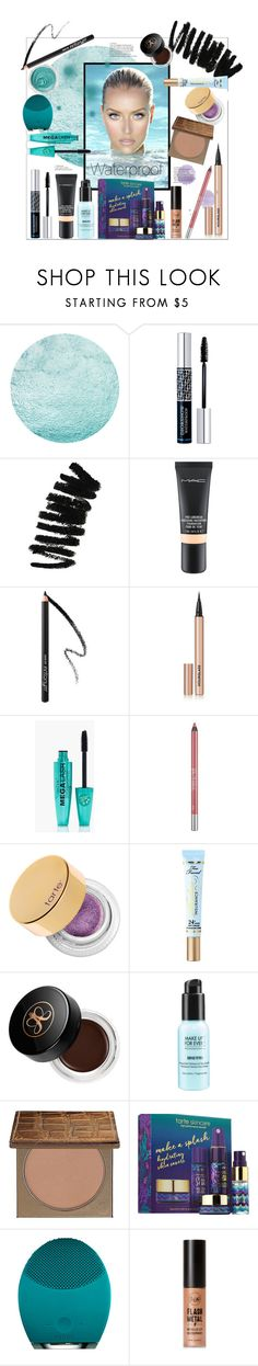 """Waterproof"" by bitty-junkkitty ❤ liked on Polyvore featuring Christian Dior, Bobbi Brown Cosmetics, MAC Cosmetics, Hourglass Cosmetics, Boohoo, Urban Decay, tarte, Too Faced Cosmetics, Anastasia Beverly Hills and MAKE UP FOR EVER"