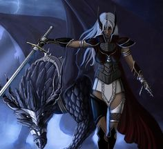 Dragon Rider by padisio - Inspirational Fantasy Illustrations  <3 <3