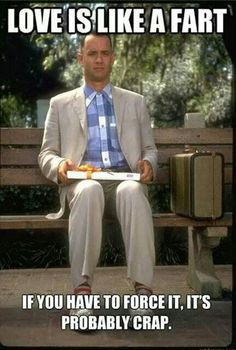 Funny pictures about Forrest Gump gives the best love advice. Oh, and cool pics about Forrest Gump gives the best love advice. Also, Forrest Gump gives the best love advice photos. Forrest Gump, Tom Hanks, Robin Wright, Les Miserables, Friday Pictures, Friday Pics, Fail Pictures, Gary Sinise, Bon Film