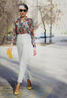 Mom Jeans Outfit For Spring | ModaVracha Personal Style Fashion Blog