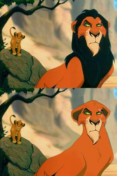 Scar — The Lion King / Disney Men Without Beards
