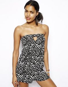 River Island Cutout Bandeau Playsuit - i think i found my replacement!
